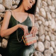 Minimalistyczna i kolorowa torebka na złotym łańcuszku. Dodatek polecamy każdej miłośniczce delikatnego ale funkcjonalnego stylu. 🌿 Wieczorowy dodatek idealnie będzie komponować się z dopasowaną sukienką na ramiączka, czy krótkimi topami i zwiewną spódnicą.   👜 Model torebki ze zdjęcia: NBAG-K2130-CM02  A minimalistic and colorful handbag on a gold chain. We recommend the add-on to every lover of a delicate but functional style. 🌿 The evening accessory will perfectly match a fitted dress with straps or short tops and a flowing skirt.  👜 Photo bag model: NBAG-K2130-CM02  #dobreNOBOłódzkie #small  #bags #smart #style #elegant #glamour #color #nobobags #nobogirls #dress #fashion #moda #instafashion #model #girls #woman #kobieta #poland #polskamarka #shoppin #shoponline #look #outift #instagood #instadaily #picoftheday #torebka #accessories